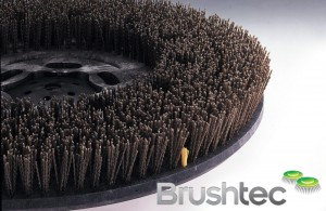 Heavy Industrial Scrubbing Disk Brush 46 grit