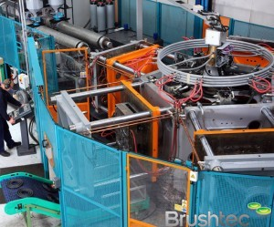 Brushtec's in-house moulding department