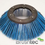 Poly & Wire Side Brush