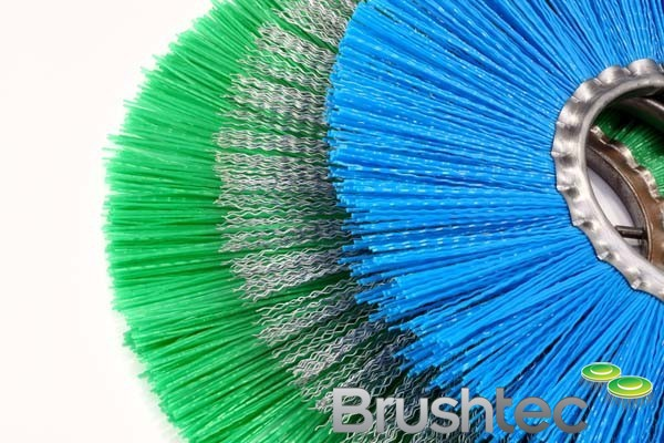 Ring Brushes And Spacers For Road Sweepers Brushtec