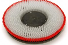 Carpet Shampoo Brush with Base support