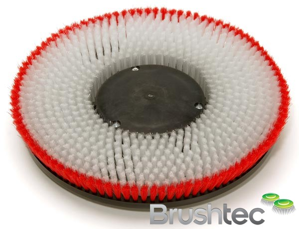 Carpet Shampoo Brush With Base Support Brushtec