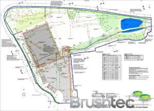 Brushtec site plans
