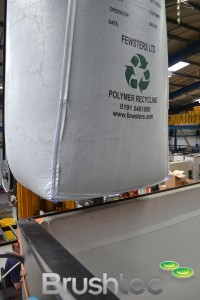 Reusable sack of recycled poly