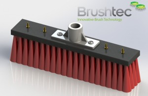 Prototype window cleaning brush