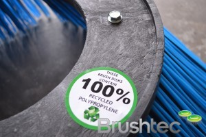 Brushtec Re-Cycling label