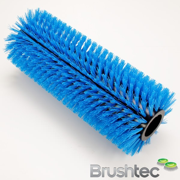 One piece quick change municipal main brush