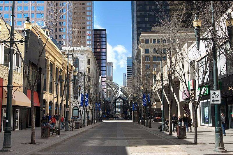 Calgary, Canada - Clean streets
